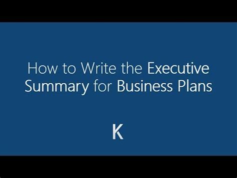 Ehow write business plan